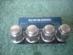 4 GENUINE CHRYSLER VOYAGER AND GRAND VOYAGER STAINLESS STEEL WHEEL NUTS